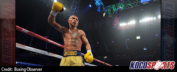 Vasyl Lomachenko puts on clinic in title-winning victory over Gary Russell Jr.