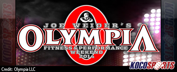 Schedule of Events for the 2014 Olympia weekend; September 18th to September 21st