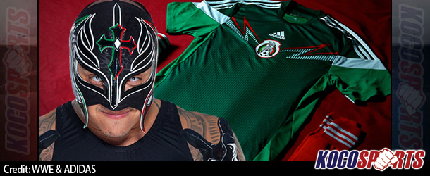 How Rey Mysterio influenced the Mexican soccer team's look for the 2014 World Cup