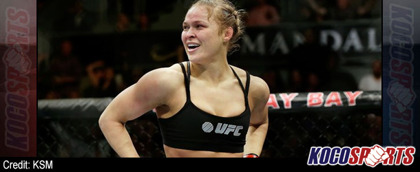 UFC's Ronda Rousey comments on appearing in WWE and CM Punk's status with the company