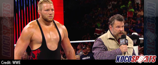 Video: WWE Raw coverage – 06/30/14 – (Jack Swagger defends America against Alexander Rusev)