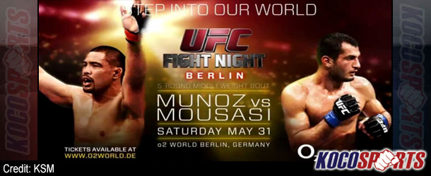 "Video: UFC Fight Night – Berlin – ""Munoz vs. Mousasi"" – 05/31/14 – (Full Show)"