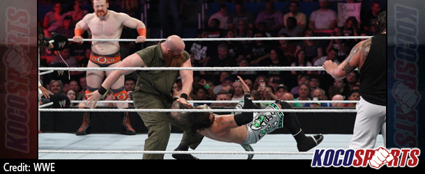 Video: WWE Raw coverage – 06/30/14 – (Sheamus O'Shaunessy & The Usos vs. The Wyatt Family)