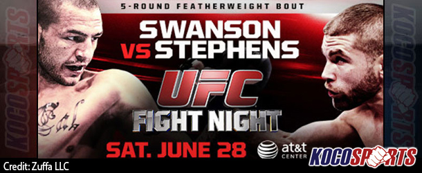 "Video: UFC Fight Night 44 ""Swanson vs. Stephens "" – 06/28/14 – (Full Show)"