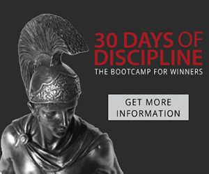 30 Days of Discipline!