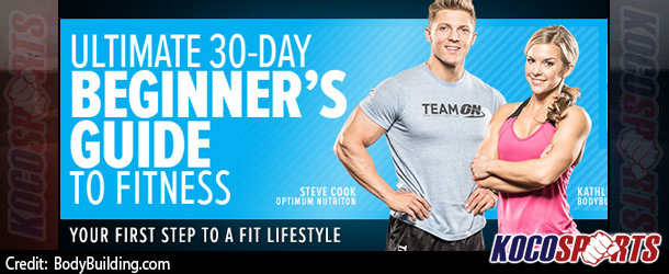 "Video: Bodybuilding.com release the ""Ultimate 30 Day Beginners Guide to Fitness"""