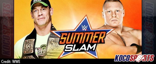 John Cena vs. Brock Lesnar for the WWE title at SummerSlam is official