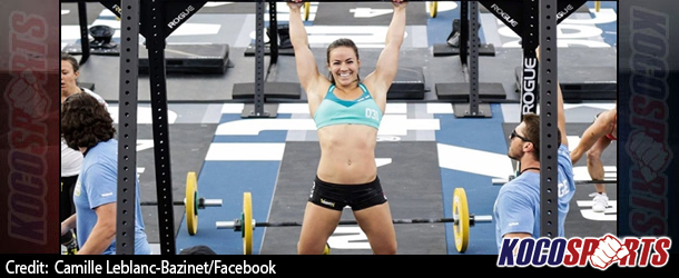Camille Leblanc-Bazinet becomes world's fittest woman winning the women's individual competition at CrossFit Games