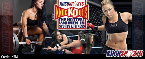 Kocosports Daily Knockout – The Hottest Women in Sports & Fitness – 07/16/14 – (Sasha Brown)