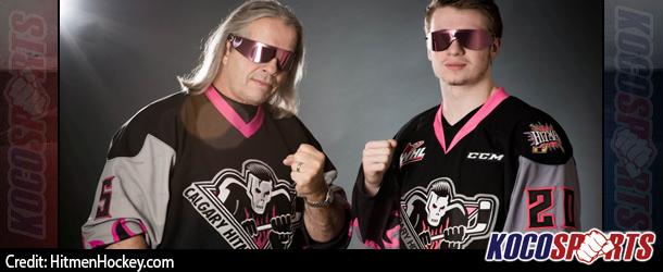 "Bret Hart's ""Calgary Hitmen"" hockey team celebrates 20th Anniversary with new Hart inspired uniforms"