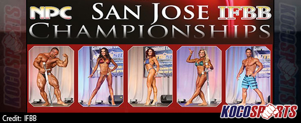 Listing of competitors for the IFBB San Jose Pro show; winner will qualify for the Olympia