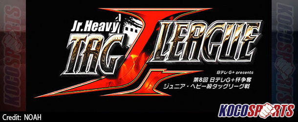 """Pro Wrestling NOAH """"8th Annual NTV G+ Cup Junior Heavy Tag League War"""" results – 07/29/14 – (Tottori Industrial Gymnasium, Sub-Arena)"""