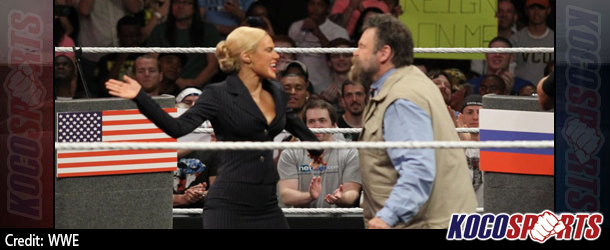 Video: WWE Monday Night Raw coverage – 07/14/14 – (Zeb Colter and Lana Perry participate in a US / Russia Detente)