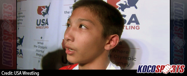 Video: Malik Heinselman of Colorado comments on becoming the 2014 Cadet Nationals freestyle 88lbs champion