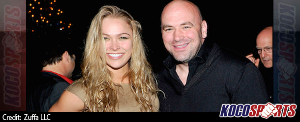 """Dana White: """"I think we've found another Ronda Rousey on this season of The Ultimate Fighter"""""""