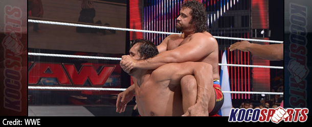 Video: WWE Monday Night Raw coverage – 07/21/14 – (The Great Khali vs. Alexander Rusev)