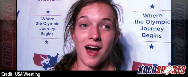 Video: Sierra Joner comments on becoming the Cadet Nationals Women's 115lbs Champion
