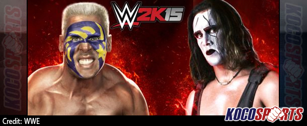 Artwork revealed for WWE 2K15: Two Generations of Sting