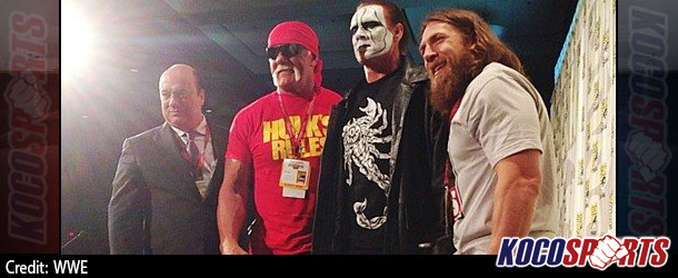 Video: Sting makes his first live WWE appearance at San Diego Comic Con