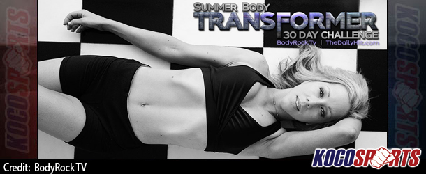 Video: Summer Body Transformer – 30 Day Challenge – (Day 5)