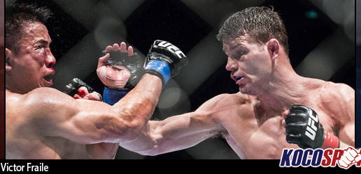 UFC Fight Night 48 results – 08/23/14 – (Michael Bisping stops Cung Le in the fourth round)