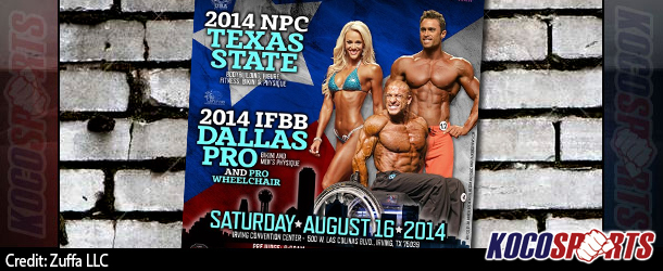 Details and competitor lists for this weekend's IFBB Dallas Pro & NPC Texas State
