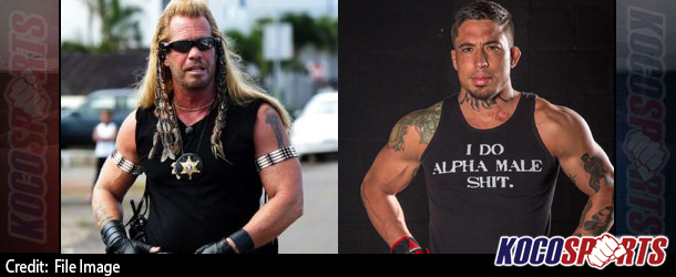 """Dog the Bounty Hunter challenges """"War Machine"""" to a street fight; Dog's son hits on Christy Mack"""