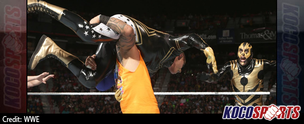 Video: WWE Monday Night Raw coverage – 08/18/14 – (The Usos vs. Goldust & Stardust)
