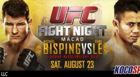 """Video: UFC Fight Night 48 – """"Bisping vs. Le"""" – 08/23/14 – (Full Show)"""