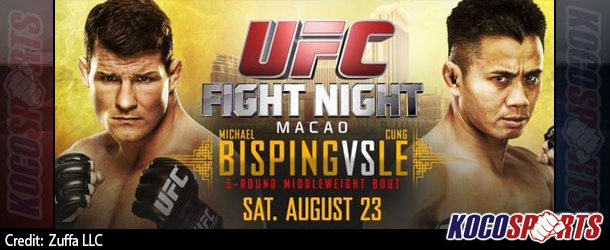 "Video: UFC Fight Night 48 – ""Bisping vs. Le"" – 08/23/14 – (Full Show)"