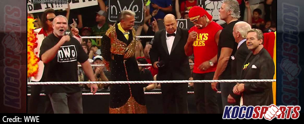 Video: WWE Monday Night Raw coverage – 08/11/14 – (The nWo and WWE Legends wish Hulk Hogan Happy Birthday!)