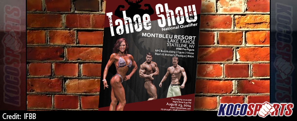 Preview for this weekend's IFBB Tahoe Pro Figure show; last chance to qualify for Olympia figure division