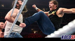 WWE Monday Night Raw results – 03/08/15 – (Ambrose gets Rowdy in six-man Main Event!)