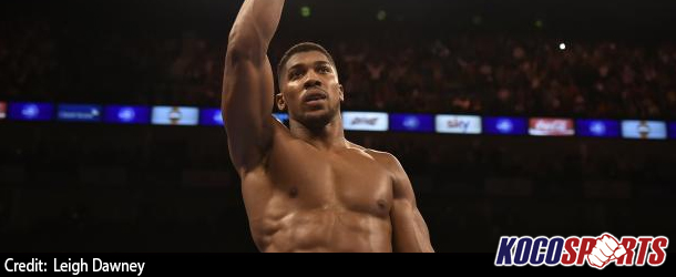 Anthony Joshua maintains unbeaten record after KO of Eric Molina in Manchester