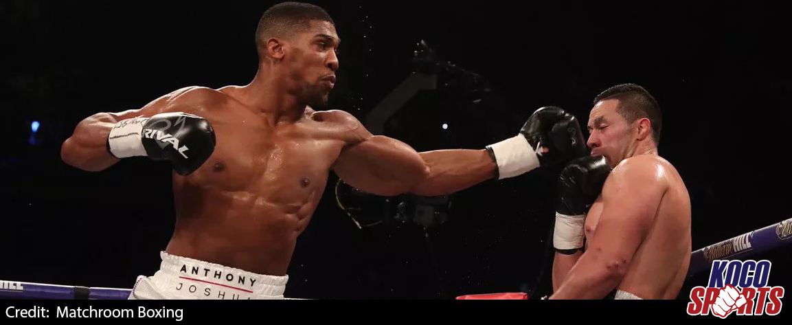 """Anthony Joshua's camp makes """"much-improved"""" offer for Deontay Wilder fight"""