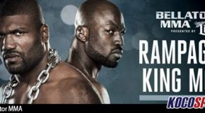 "Video: Quinton ""Rampage"" Jackson & ""King Mo"" Lawal discuss their Bellator 175 showdown"