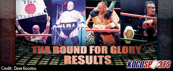 "Audio: Kocosports – ""TNA Bound for Glory"" Review – 10/12/14 – (Muta & Tajiri beat Sanada & Storm)"