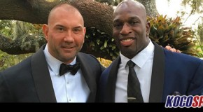 Dave Batista says he advised Titus O'Neil to ask to be released from WWE following his suspension