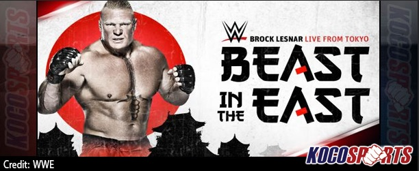 "Video: WWE ""Brock Leanar: The Beast in the East Live from Tokyo"" – 07/04/15 – (Full Show)"