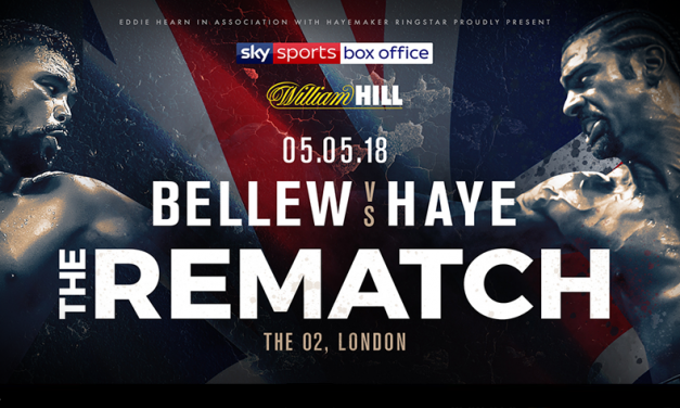 Bellew and Haye set for a rematch at the 02 Arena in London, England