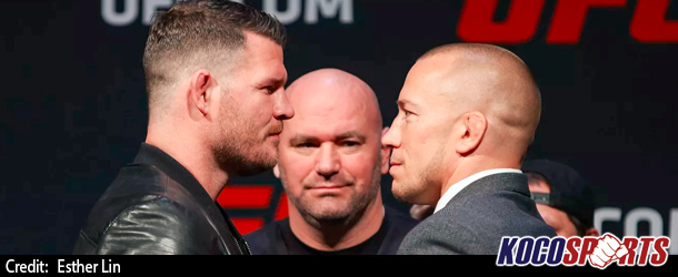 "Video: Full coverage of the UFC's Georges St-Pierre vs. Michael ""The Count"" Bisping press conference"
