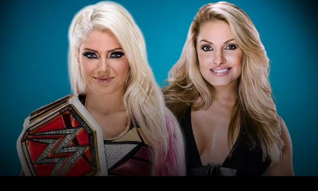 Alexa Bliss vs. Trish Stratus booked for WWE Evolution on Sunday, Oct. 28th