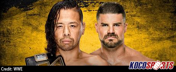 NXT Takeover: San Antonio match card; Shinsuke Nakamura defends the NXT Championship against Bobby Roode