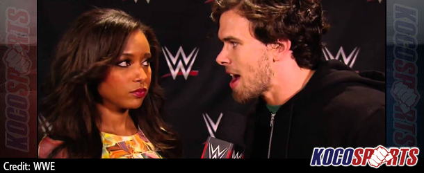 """Video: An angry Brad Maddox returns to WWE with an awesome promo in this """"WWE App"""" exclusive"""