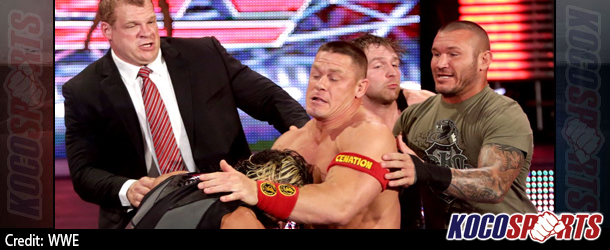 Video: WWE Monday Night Raw coverage – 09/22/14 – (John Cena and Dean Ambrose get some Night of Champions payback)