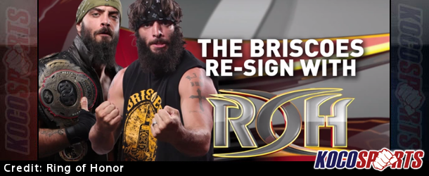 Video: The Briscoe Brothers have re-signed with Ring of Honor, bringing an end to rumors of a potential NXT signing