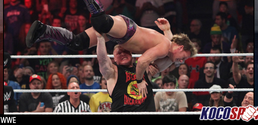 "WWE Monday Night Raw results & footage – 12/15/14 – (Brock Lesnar returns and lays waste to ""Raw is Jericho"")"