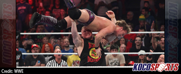 Video: WWE Monday Night Raw Coverage – 12/15/14 – (Brock Lesnar attacks Chris Jericho)