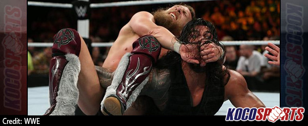 WWE Fastlane results – 02/22/15 – (Reigns beats Bryan; Sting challenges Triple H for Mania; New Tag Team champs!)