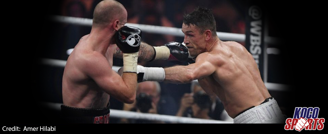 Callum Smith knocks out George Groves to reign as WBA super champion
